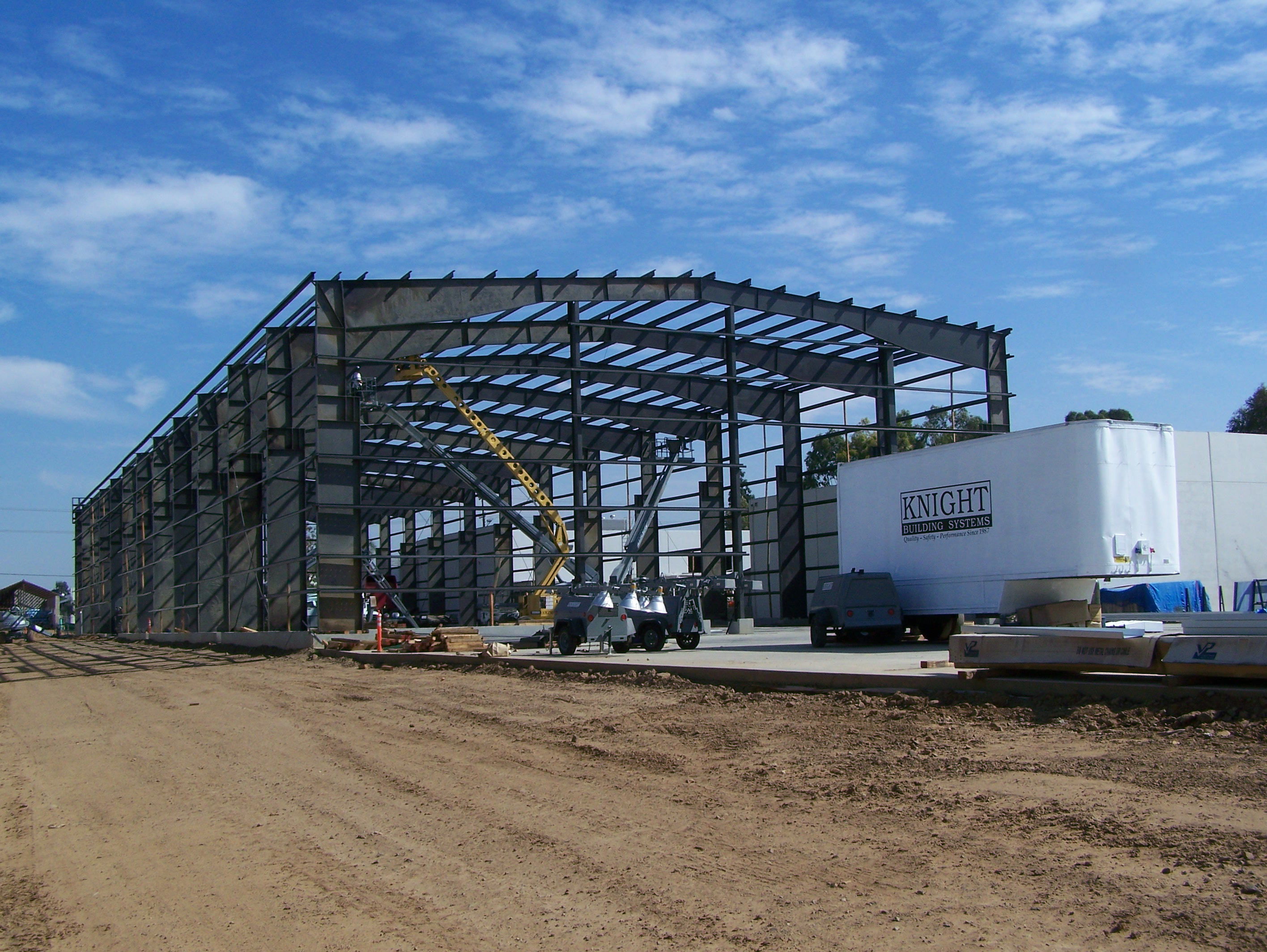 Structural Steel Erection - Knight Building Systems, Inc.